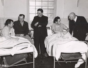 Maine WWII Hospital Visit US Army Airfield Presque Isle Photo 1945