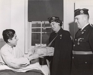 Maine WWII Hospital Birthday Gifts US Army Airfield Presque Isle Photo 1945