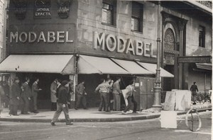 Argentina Bank Strike Employees Riot Modabel Old Photo 1959