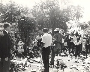 Anti Soviet Demonstration in Tanzania Old Photo 1968