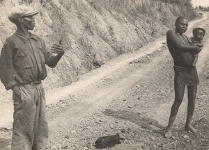 Attilio Gatti African Expedition Angola Old Photo 1936