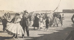 Bolivia Uyuni Village Festival Old Snapshot Photo 1910