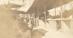 Bolivia La Paz Market Place Old Snapshot Photo 1910