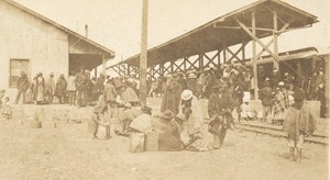 Bolivia La Paz El Alto Railway Station Old Snapshot Photo 1910