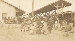 Bolivia La Paz El Alto Railway Station Old Snapshot Photo 1910