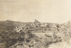 Spain Catalonia Ager General View Old Photo 1914