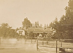 New Zealand Rotorua Geysers Sanatorium Medical Old Photo 1900
