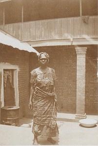 Niger Niamey Woman Fashion Old Snapshot Photo 1929