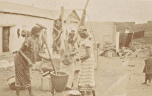 Niger Niamey Haoussas Women Cookers Snapshot Photo 1929