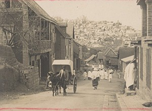 Madagascar Tananarive Street Scene Old Photo 1900