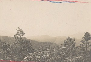 Madagascar Isalo District Mountains Old Photo 1900