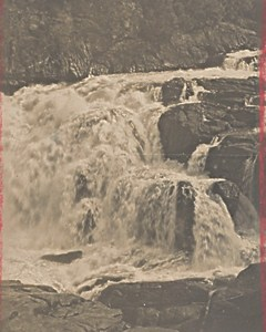 Madagascar Isalo District River Waterfall Old Photo 1900