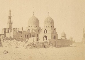 Egypt Cairo Mamelouks Tombs Old Albumen Photo Fiorillo 1880