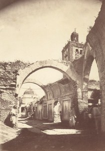 Tunisia Tunis Old Souk Souq Market Old Photo 1880