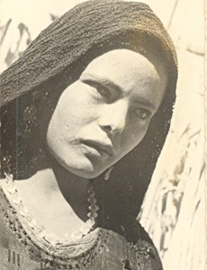 Egypt Young Christian from Koussia Old Photo 1940