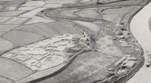 Vietnam War Vinh Area Brickworks Factory French Aerial Photo 1950