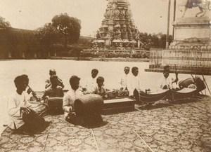 Cambodia King Royal Musicians Sisowath Old Photo 1930