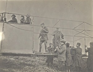 Reims Military Airplane Aviation Competition Old Photo 1911