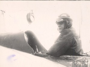 France Aviation Pilot Pionnier Old Photo 1910