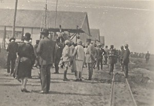 France Paris Aviation Exhibition Meeting Old Photo 1918