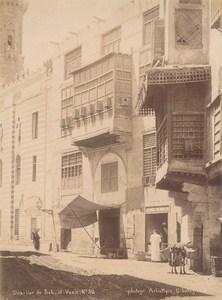 Egypt Cairo Bab el Vazir Street Legekian Photo 1880