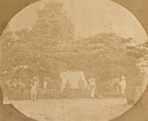 India Bombay English Officer House Old Photo 1865