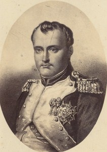 Emperor Napoleon I France Old Photo CDV 1860
