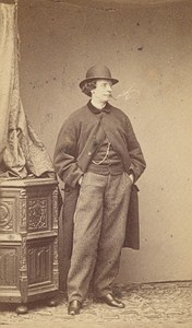Lesueur French Actor Second Empire Old Photo CDV 1868