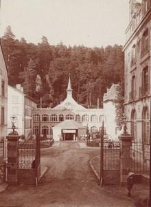 Bagnoles de l Orne Spa Town Bath Scene Snapshot Instantaneous Photo 1900