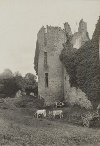 Bagnoles de l Orne Spa Town Ruins Snapshot Instantaneous Photo 1900