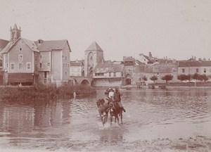 Around Fontainebleau Street Scene Snapshot Photo Instantaneous 1900