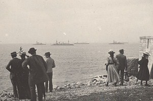 Royan Seaside Beach Scene Snapshot Photo Instantaneous 1900