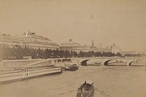 Pont au Change Paris Street Life Old Animated Instantaneous Photo 1885