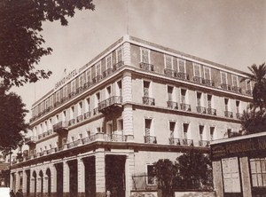 Nile Assouan Grand Hotel Old Photo 1900