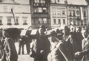 WWII Teschen Cieszin Polish Occupation Old Photo 1938
