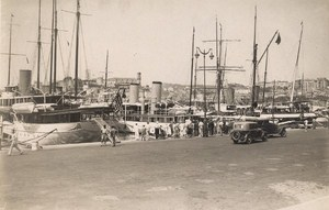 France Cannes Harbor View Animated Old Photo Manuel 1930