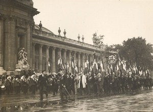 France Paris General Leclerc Funeral old Photo 1947
