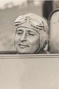 Caudron Plane French Pilote Monville Winner Deutch Cup Old Photo 1933
