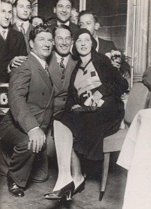 Actor Maurice Chevalier Come back in France Old Photo ca 1930