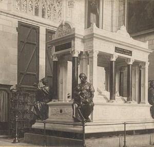 France Nantes Lamoriciere Tomb Old Stereo Photo SIP 1900