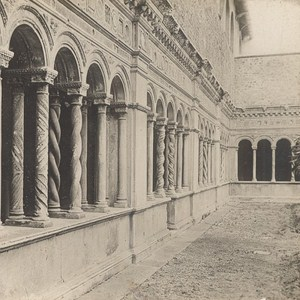 Italy Roma St John of Latran Colonnade Old Stereo Photo SIP 1900