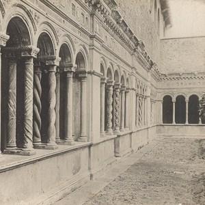 Italy Roma St John of Latran Colonnade Old Stereo Photo SIP 1900