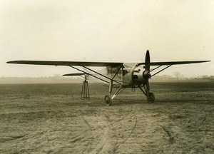 United Kingdom Airplane Hawk Moth 240 HP Lynx Engine Old Photo ca 1930