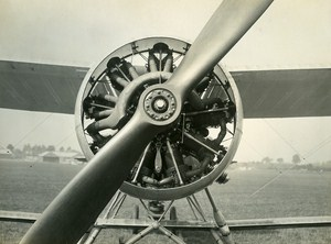 United Kingdom Biplane Bristol Pegasus Vickers Vespa Engine Old Photo 1930