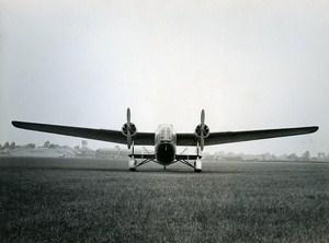 United Kingdom Plane Bristol Bomber Transport Machine Type 130 Old Photo 1930
