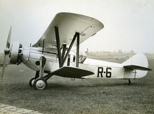United Kingdom Airplane Biplane Bristol Type 120 Old Aviation Photo 1930