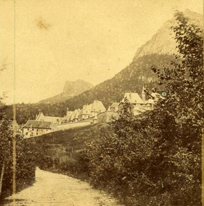 Grande Chartreuse Dauphine France Old Stereo Photo Margain & Muzet ca 1858