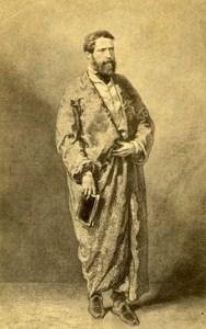 Painter Alexandre-Gabriel Decamps France Second Empire Old CDV Photo 1865
