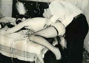 Nude Risque Sex Eroticism Curiosa France Old Photo ca 1950