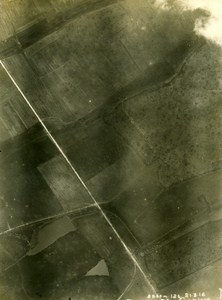 Battle of Verdun Le Feuilla France WWI WW1 Old Aerial Photo 1916
